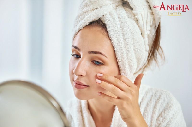 Hình ảnh Da nhăn và khô: 2 dấu hiệu lão hóa của làn da