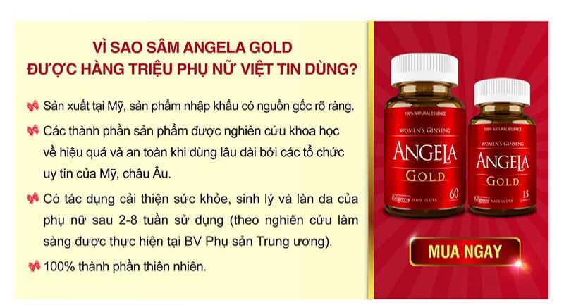 Box sản phẩm Angela Gold