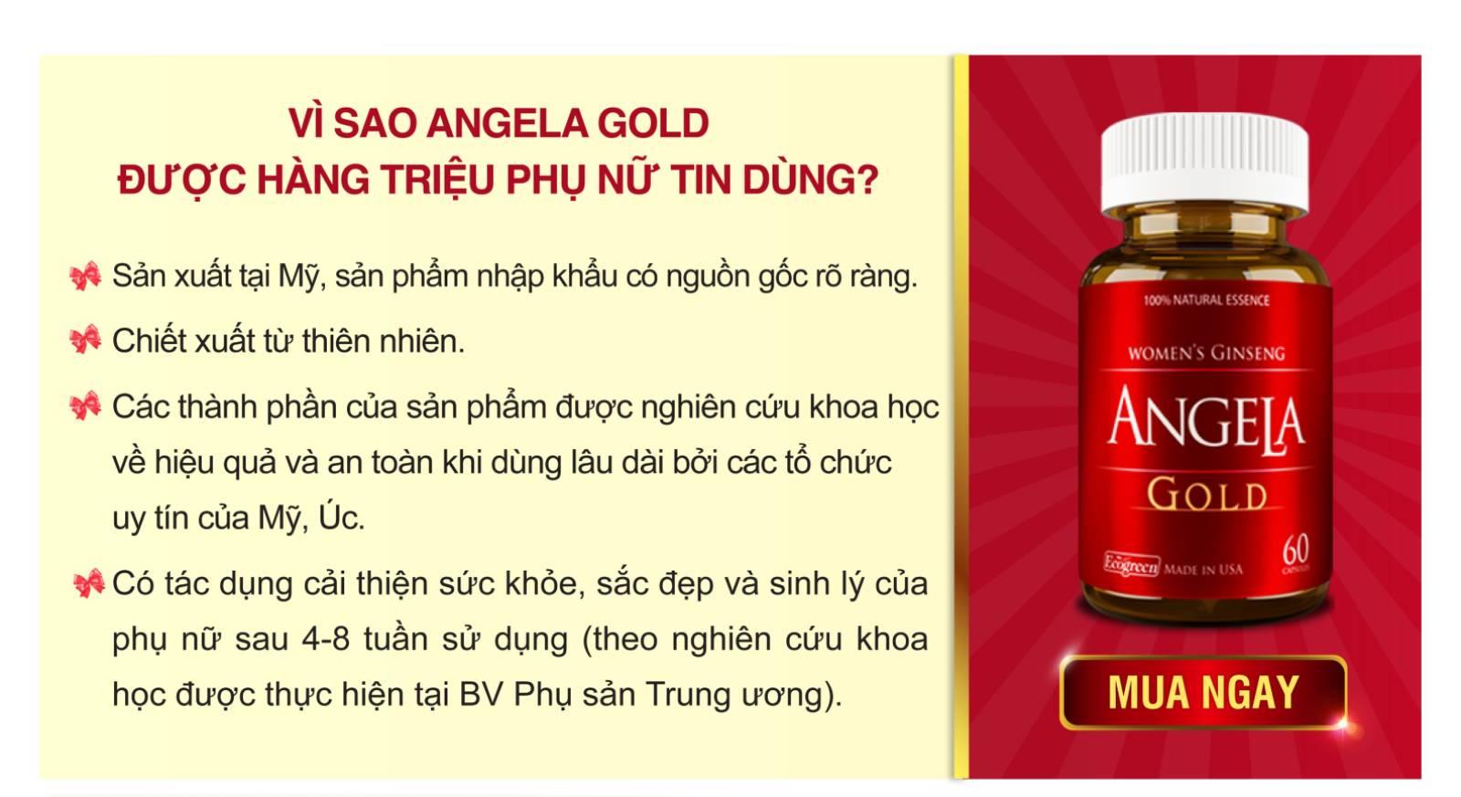 Lý do chọn Angela Gold